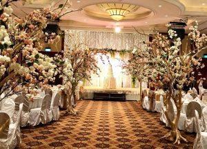Wedding entrance Garden theme