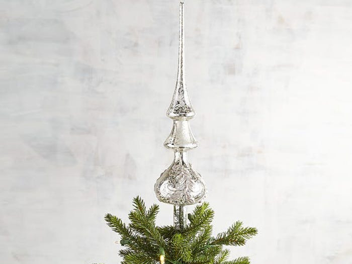 POLLYANNA GUIDE TO DECORATING CHRISTMAS TREE TOPPER
